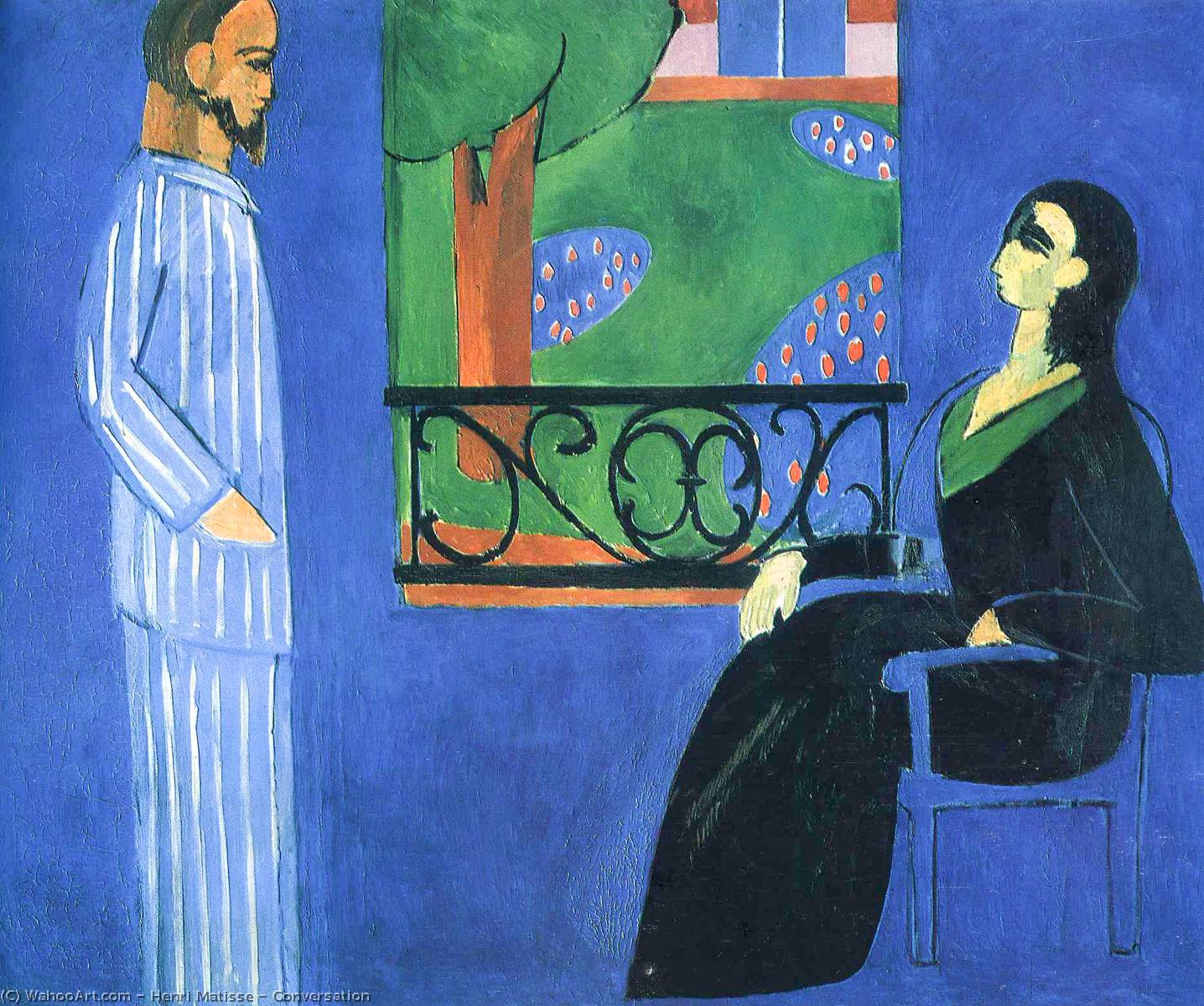 Conversation, Oil On Canvas by Henri Matisse (1869-1954, France)
