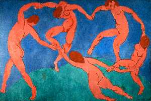 Henri Matisse - Dance (II) - (paintings reproductions)