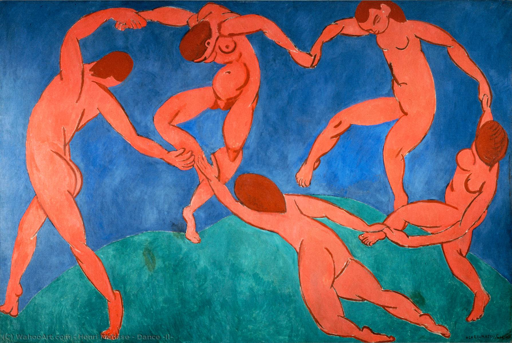 Dance (II), 1910 by Henri Matisse