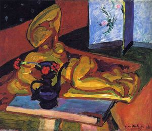 Henri Matisse - Sculpture and Persian Vase