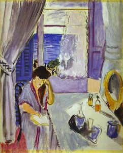 Henri Matisse - Woman Reading at a Dressing Table (Interieur, Nice)