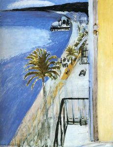 Henri Matisse - The Bay of Nice