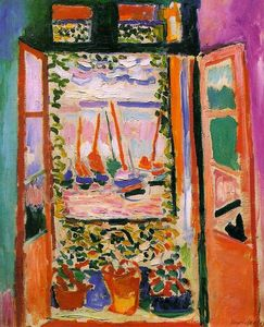 Henri Matisse - Open Window, Collioure