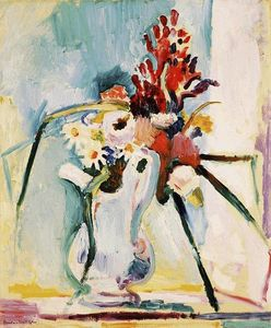 Henri Matisse - Flowers in a Pitcher
