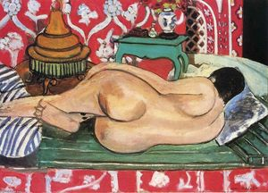 Henri Matisse - Reclining Nude, back