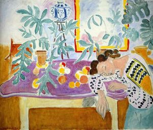 Henri Matisse - Still Life with sleeper