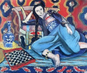 Henri Matisse - Odalisque with a Turkish Chair