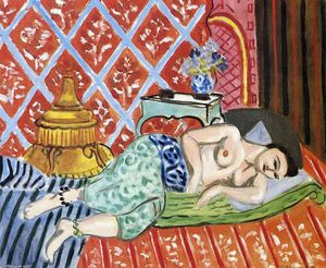 Henri Matisse - A Nude Lying on her Back