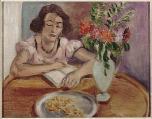 Henri Matisse - Reading girl