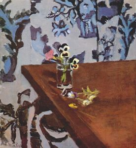 Henri Matisse - Pansies on a Table