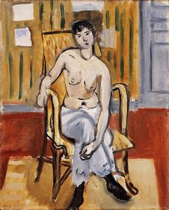 Henri Matisse - Seated Figure, Tan Room