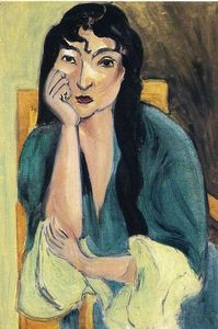Henri Matisse - Laurette in Green