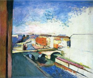 Henri Matisse - Pont Saint Michel in Paris