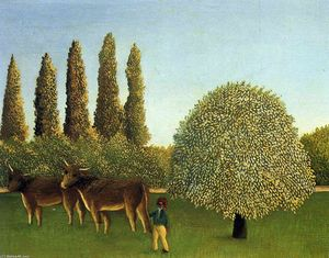 Henri Julien Félix Rousseau (Le Douanier) - In the Fields