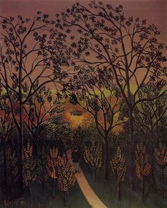 Henri Julien Félix Rousseau (Le Douanier) - Corner of the Plateau of Bellevue