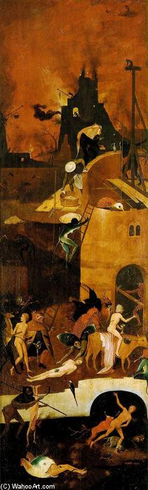 Haywain (detail), 1490 by Hieronymus Bosch (1450-1516, Netherlands) | Reproductions Hieronymus Bosch | WahooArt.com
