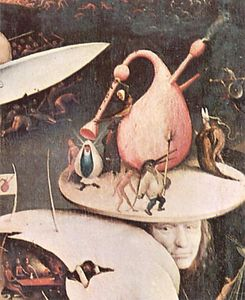 Hieronymus Bosch - The Garden of Earthly Delights (detail)