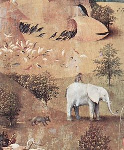 Hieronymus Bosch - The Garden of Earthly Delights (detail) (17)