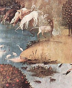 Hieronymus Bosch - The Garden of Earthly Delights (detail) (20)
