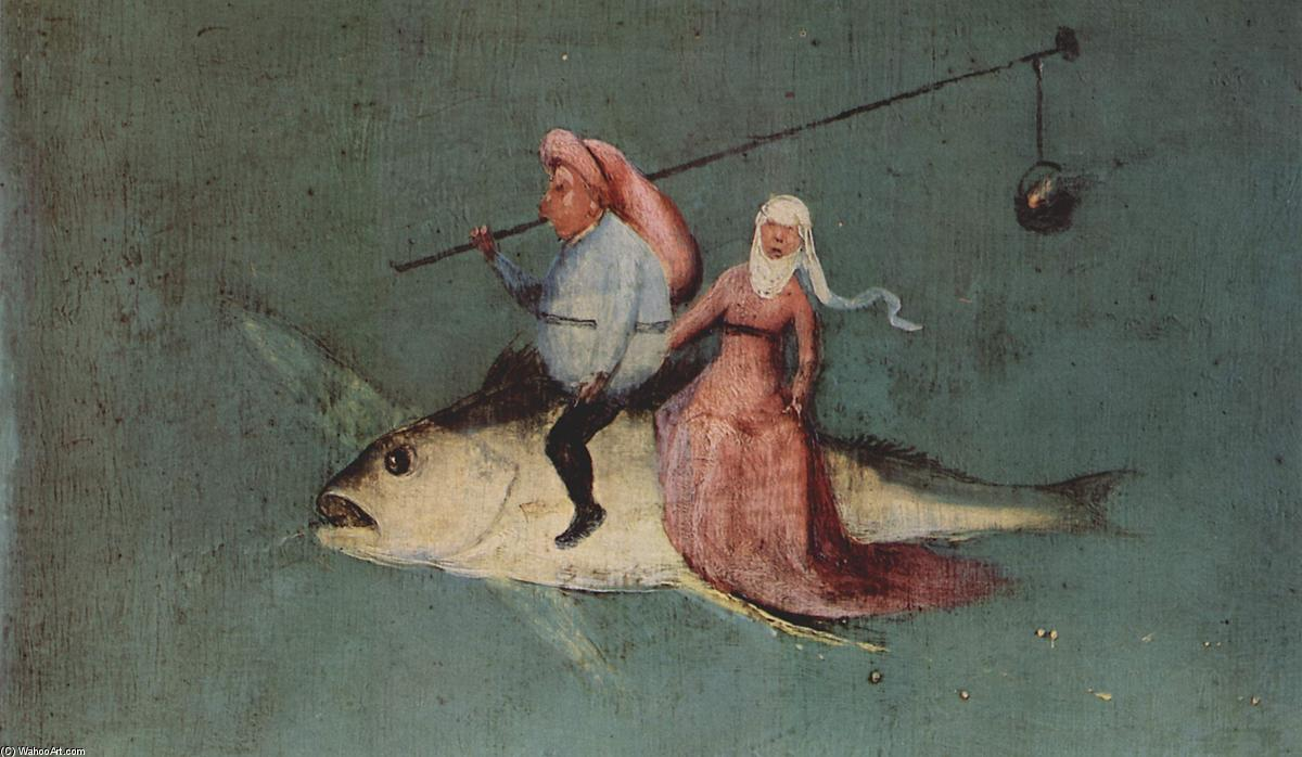 The Temptation of St. Anthony (detail), 1516 by Hieronymus Bosch (1450-1516, Netherlands) | Oil Painting | WahooArt.com