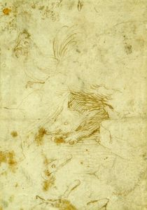 Hieronymus Bosch - Fox and rooster