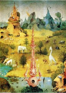 Hieronymus Bosch - The Garden of Earthly Delights (detail) (32)