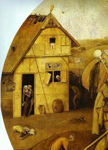 Hieronymus Bosch - The House of Ill Fame