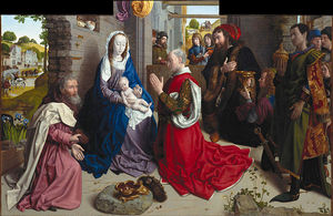 Hugo Van Der Goes - The Adoration of the Kings (Monforte Altar)