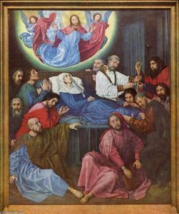 Hugo Van Der Goes - Death of the Virgin