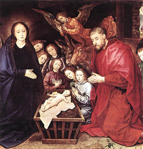 Hugo Van Der Goes - The Adoration of the Shepherds