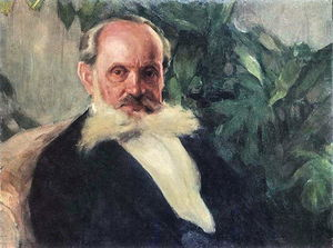 Igor Emmanuilovich Grabar - Portrait of Emmanuil Hrabar (painter's father)