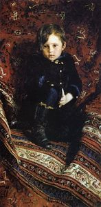Ilya Yefimovich Repin - Portrait of Yuriy Repin, the Artist's son