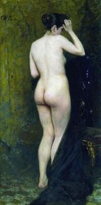 Ilya Yefimovich Repin - Nude Model (from behind)