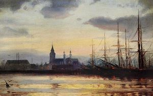 Ioannis Altamouras - Evening in the Harbour