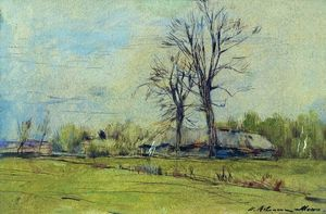 Isaak Ilyich Levitan - Melikhovo at spring