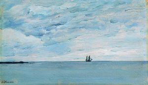 Isaak Ilyich Levitan - Sea by the coasts of Finland