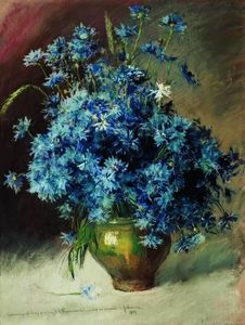 Isaak Ilyich Levitan - Cornflowers