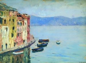 Isaak Ilyich Levitan - Lake Como