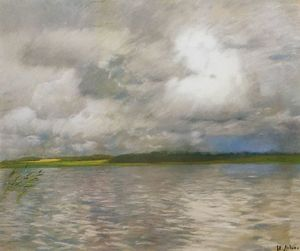 Isaak Ilyich Levitan - Cloudy Day.