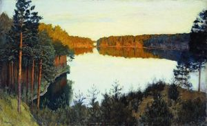 Isaac Levitan - Forest lake