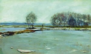 Isaak Ilyich Levitan - Early spring