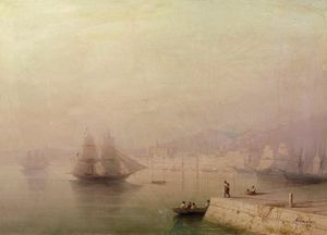 Ivan Aivazovsky - Morning. Bay