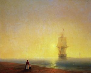 Ivan Aivazovsky - Morning at Sea