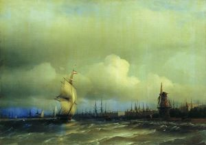 Ivan Aivazovsky - View of Amsterdam