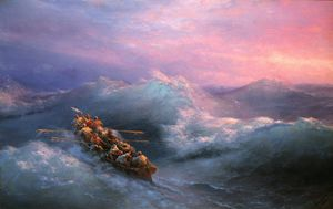 Ivan Aivazovsky - The Shipwreck (8)