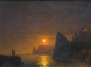 Ivan Aivazovsky - Moon Path