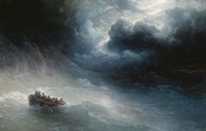 Ivan Aivazovsky - The Wrath Of The Seas