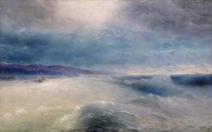 Ivan Aivazovsky - After the storm