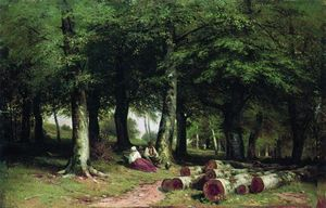 Ivan Ivanovich Shishkin - In the Grove