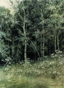 Ivan Ivanovich Shishkin - Flowers in the forest